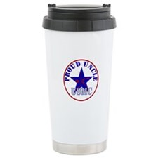 Proud Marine Uncle Travel Mug