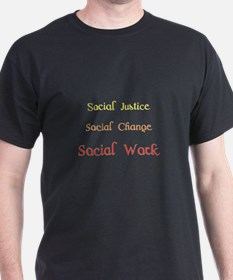Social work yellow T-Shirt