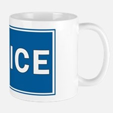Police Theme Mug