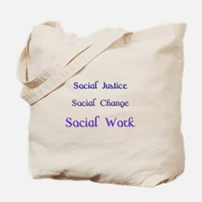 Cool Social change Tote Bag