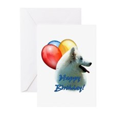 Eskie Balloon Greeting Cards (Pk of 20)