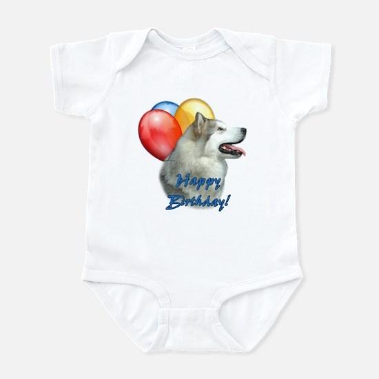 Malamute Balloon Infant Bodysuit