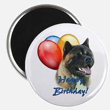 Akita Balloon Magnet