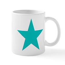 Blue Star Small Mug