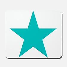 Blue Star Mousepad