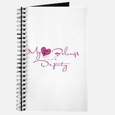My Heart Blongs to a Deputy Journal