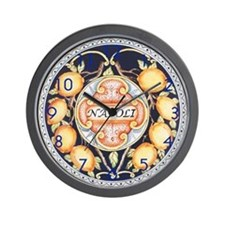 Bella Napoli Wall Clock