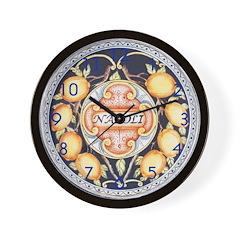 Bella Napoli Wall Clock