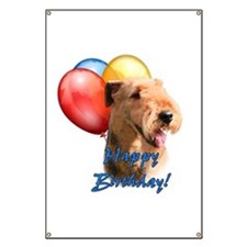 Airedale Balloon Banner