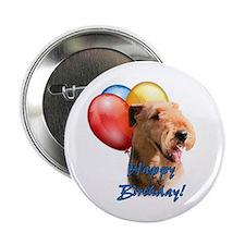 "Airedale Balloon 2.25"" Button"