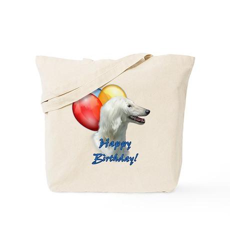 Afghan Balloon Tote Bag