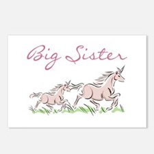 Unicorn Big Sister Postcards (Package of 8)