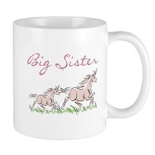 Unicorn Big Sister Mug