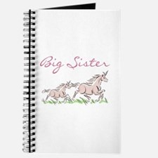 Unicorn Big Sister Journal