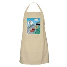Odd Road Sign BBQ Apron