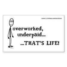 THAT'S LIFE! Rectangle Decal