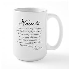 Jane Austen on Novels Mug