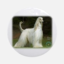 Afghan Hound 9J32D-21 Ornament (Round)