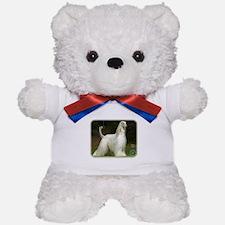 Afghan Hound 9J32D-21 Teddy Bear