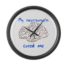 Neurosurgery Large Wall Clock