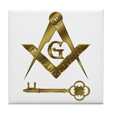 International Masons Tile Coaster