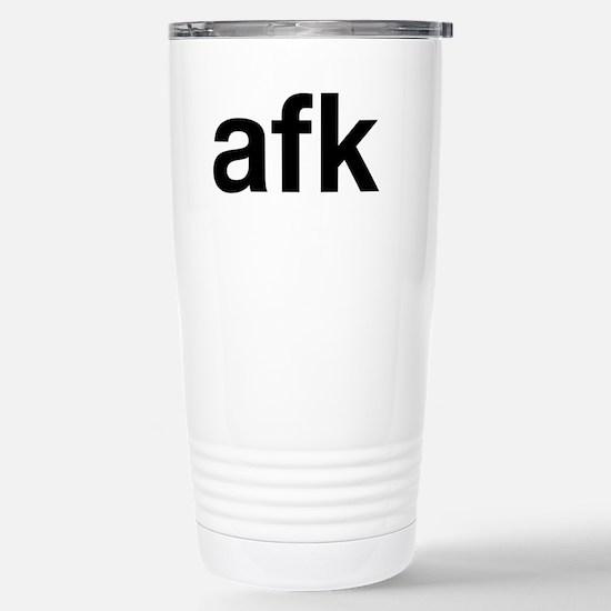 afk Stainless Steel Travel Mug