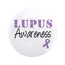"""Lupus Warrior 3.5"""" Button"""