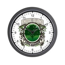 Tree Hugger Rhode Island Wall Clock