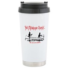 WE ARE ALL RELATED Travel Mug