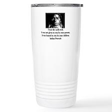 TREAT THE EARTH WELL Travel Coffee Mug
