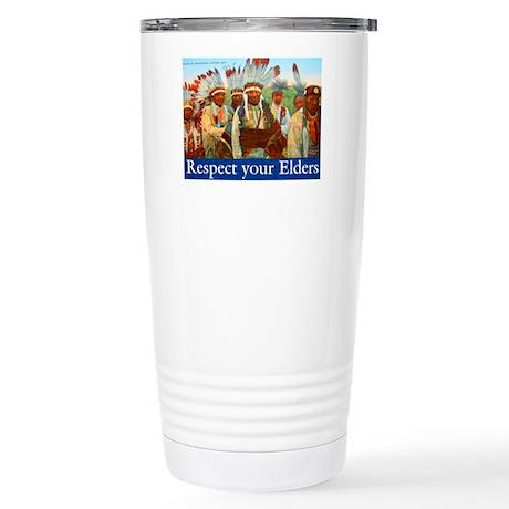 RESPECT YOUR ELDERS Stainless Steel Travel Mug