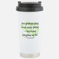 OUR GREATEST GLORY Stainless Steel Travel Mug