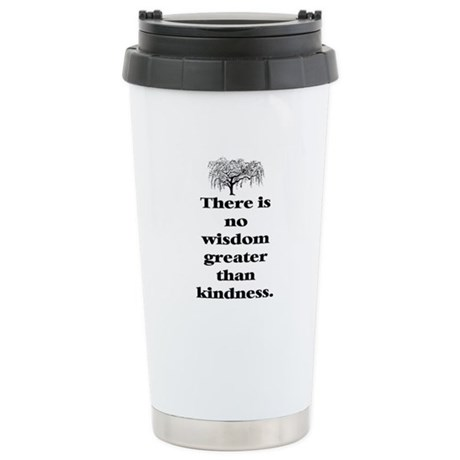 WISDOM GREATER THAN KINDNESS (TREE) Stainless Stee
