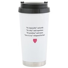 GIVE IT A TRY... Travel Mug