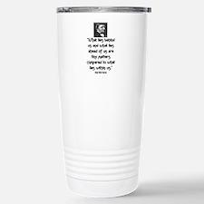 EMERSON - WHAT LIES WITHIN US. Travel Mug