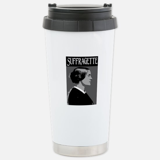 SUFFRAGETTE Stainless Steel Travel Mug