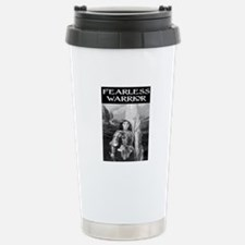 FEARLESS WARRIOR Stainless Steel Travel Mug
