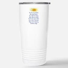 YOU ARE MY SUNSHINE Stainless Steel Travel Mug