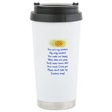 YOU ARE MY SUNSHINE Travel Mug