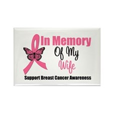 In Memory of My Wife Rectangle Magnet (10 pack)