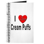 I Love Cream Puffs Journal