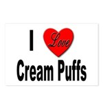 I Love Cream Puffs Postcards (Package of 8)