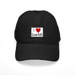I Love Cream Puffs Black Cap