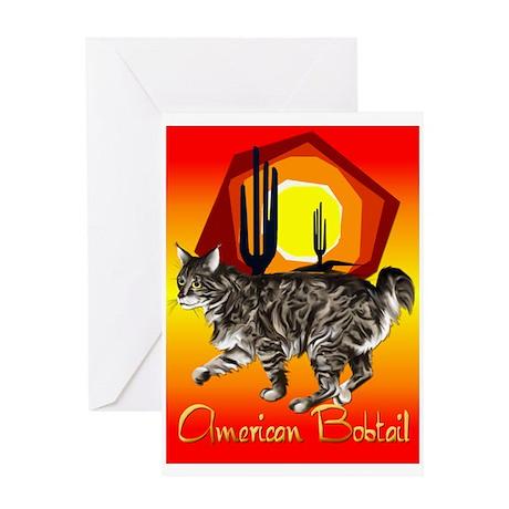 American Bobtail Greeting Card