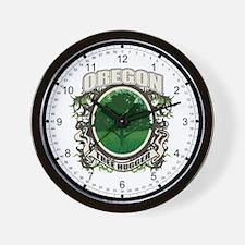 Tree Hugger Oregon Wall Clock