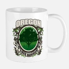 Tree Hugger Oregon Mug