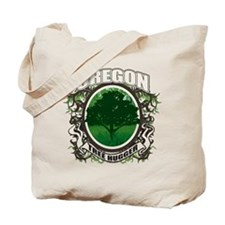 Tree Hugger Oregon Tote Bag