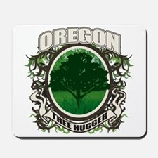 Tree Hugger Oregon Mousepad