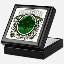 Tree Hugger Oregon Keepsake Box