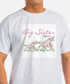 Unicorn Big Sister Again T-Shirt